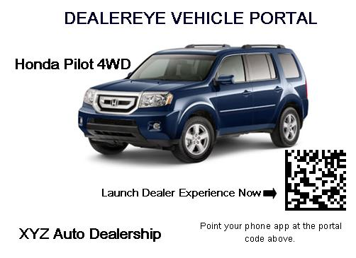 dealereye vehicle portal